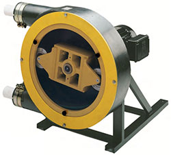 Vector peristaltic pumps