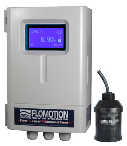 Flomotion Systems LM7000 Ultrasonic Level Meter